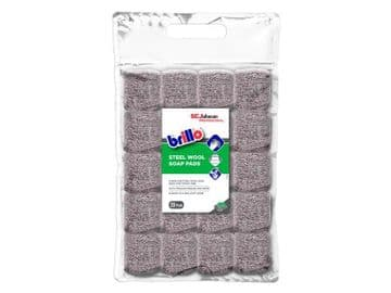 Brillo® Steel Wool Soap Pads (Pack 20)